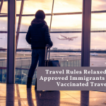 Travel Rules Relaxed For Travel to Canada